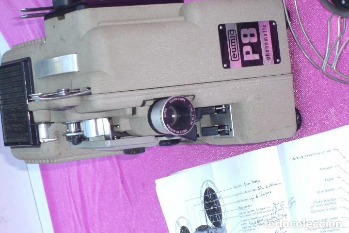 Antigüedades: PROYECTOR DE CINE EUMIG PHONOMATIC SUPER 8 MADE IN AUSTRIA - Foto 12 - 84483760
