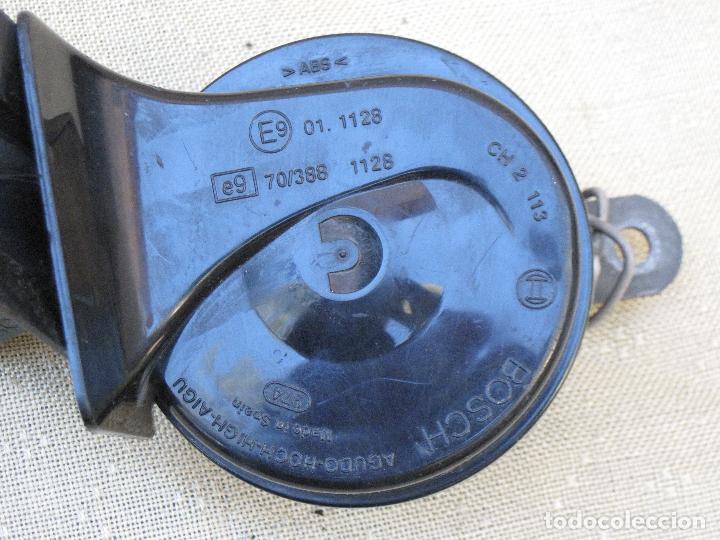 Antigüedades: LOTE DE DOS CLAXON O BOCINAS PARA AUTOMOVILES - MARCA BOSCH. - Foto 3 - 84497216