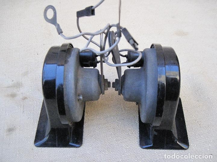Antigüedades: LOTE DE DOS CLAXON O BOCINAS PARA AUTOMOVILES - MARCA BOSCH. - Foto 4 - 84497216