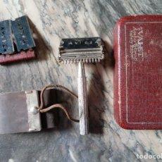 Antigüedades: VALET,COMPLETO ESTUCHE VIAJE AFEITADO.INGLES. Lote 84519060