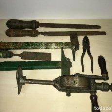 Antigüedades: LOTE DE HERRAMIENTAS CARPINTERO CARPINTERÍA . Lote 84547984