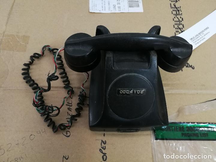 ANTIGUO TELEFONO ERICSSON DE BAQUELITA. (Antigüedades - Técnicas - Teléfonos Antiguos)