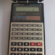 Antigüedades: CALCULADORA CIENTIFICA CASIO FX-85V SUPER-FX. SOLAR. FUNCIONANDO.. Lote 84692544