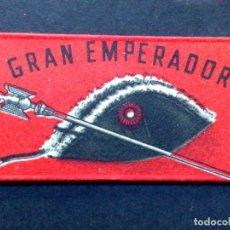 Antigüedades: HOJA DE AFEITAR ANTIGUA-GRAN EMPERADOR-ACANALADA-DE J.VOLLMER-VINTAGE. Lote 84696812