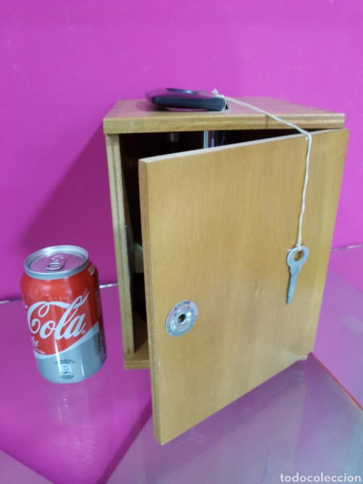 Antigüedades: Lupa BinOcular con dos aumentos y caja bobes - Foto 2 - 84698980