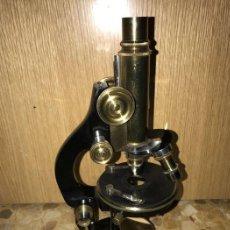 Antigüedades: MICROSCOPIO W.DIETZ WETZLAR 806. Lote 84724088