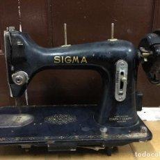 Antigüedades: CABEZA MAQUINA DE COSER SIGMA. Lote 84764468