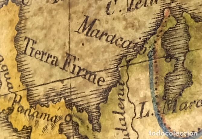 Antigüedades: 1825 - Globo Terráqueo de Antonio Monfort - Sólo 3 ejemplares catalogados - PRIMER GLOBO ESPAÑOL. - Foto 7 - 84843992
