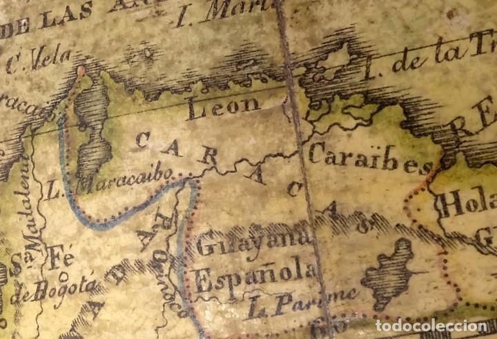 Antigüedades: 1825 - Globo Terráqueo de Antonio Monfort - Sólo 3 ejemplares catalogados - PRIMER GLOBO ESPAÑOL. - Foto 8 - 84843992