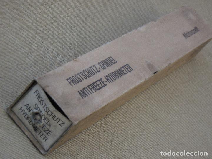 Antigüedades: DENSIMETRO - MEDIDOR DENSIDAD ACIDO SULFURICO EN BATERIAS VEHICULOS. - Foto 11 - 84878236