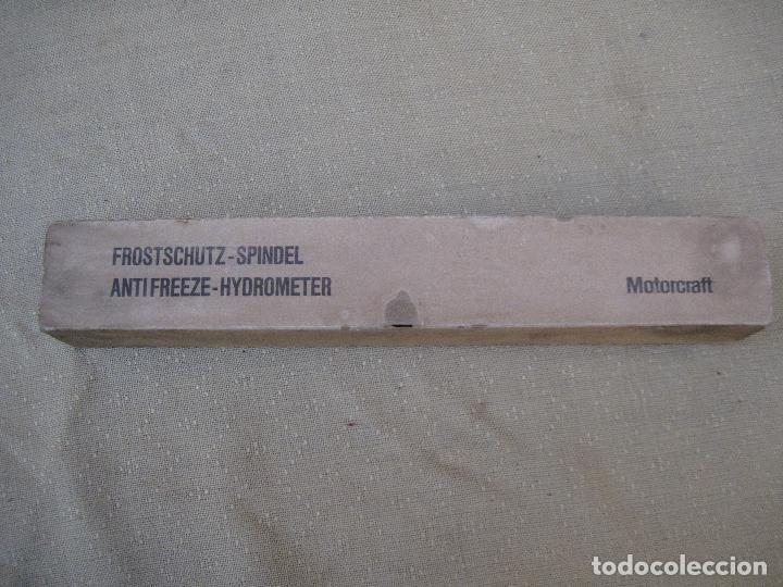 Antigüedades: DENSIMETRO - MEDIDOR DENSIDAD ACIDO SULFURICO EN BATERIAS VEHICULOS. - Foto 12 - 84878236