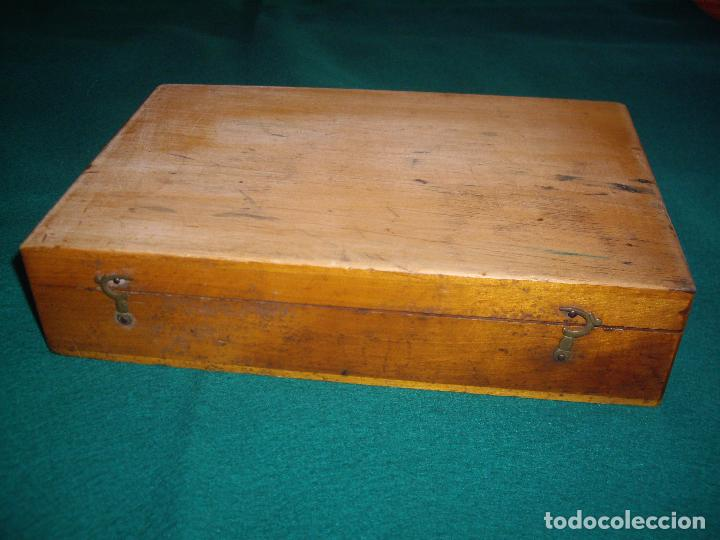 Antigüedades: IMPRENTILLA LETRAS DE METAL FRANCESA - Foto 2 - 100668934