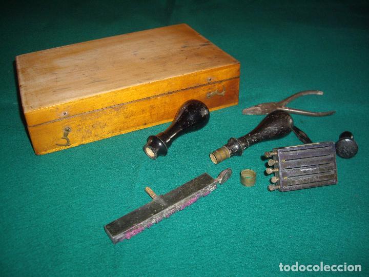Antigüedades: IMPRENTILLA LETRAS DE METAL FRANCESA - Foto 7 - 100668934