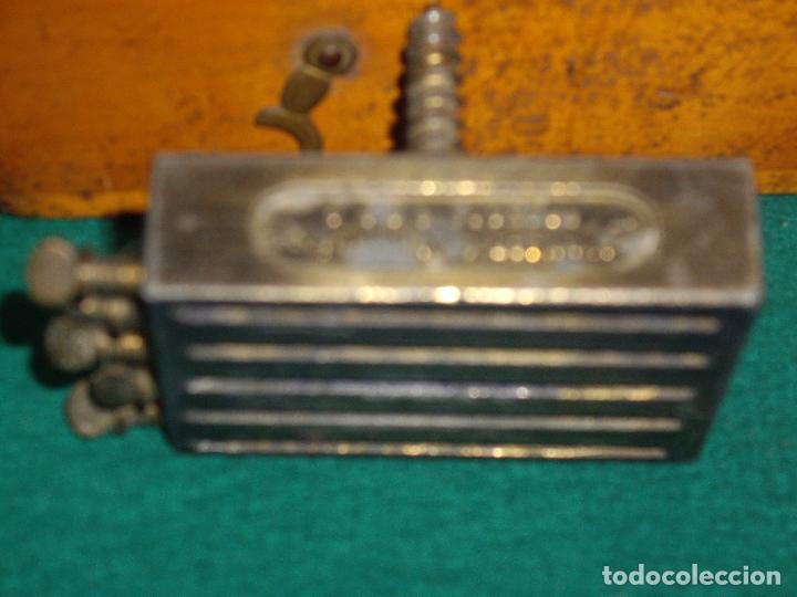 Antigüedades: IMPRENTILLA LETRAS DE METAL FRANCESA - Foto 8 - 100668934