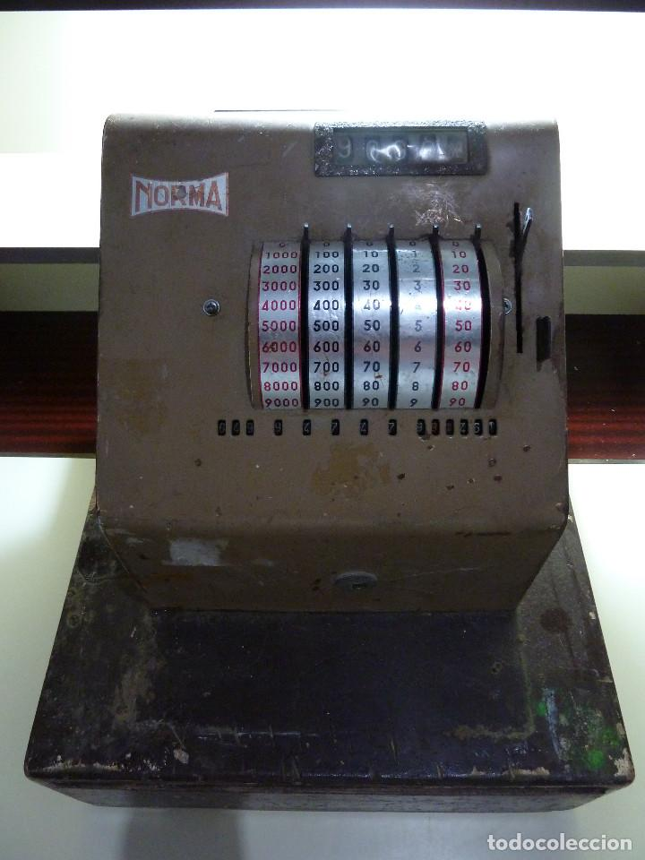 CAJA REGISTRADORA NORMA (Antigüedades - Técnicas - Aparatos de Cálculo - Cajas Registradoras Antiguas)