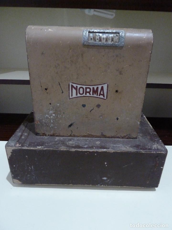 Antigüedades: CAJA REGISTRADORA NORMA - Foto 13 - 85026176