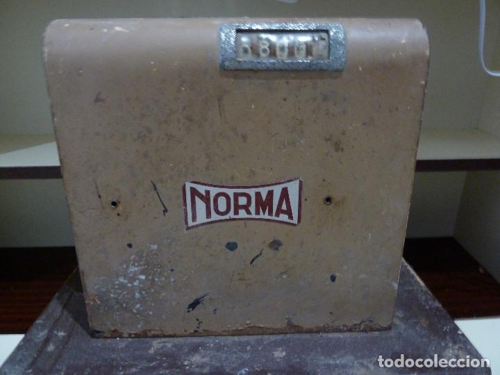 Antigüedades: CAJA REGISTRADORA NORMA - Foto 14 - 85026176