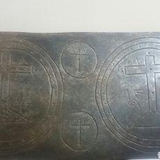 Antigüedades: OSTIARIO DE HIERRO FORJADO . Lote 85275474