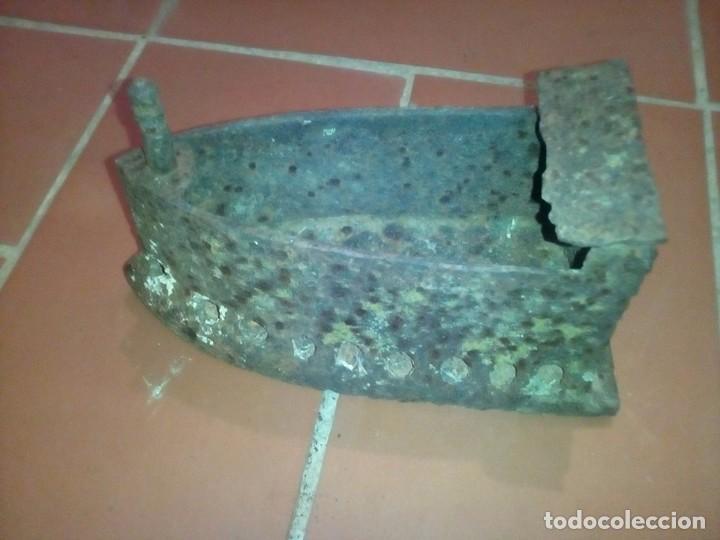 ANTIGUA PLANCHA CARBON (Antigüedades - Técnicas - Planchas Antiguas - Carbón)