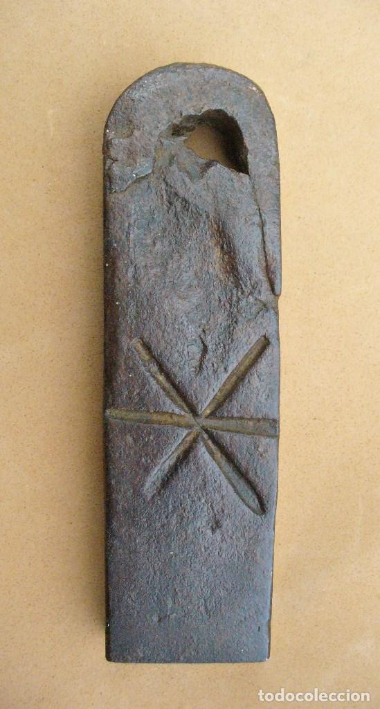 PESA PONDERAL DE HIERRO (Antigüedades - Técnicas - Medidas de Peso - Ponderales Antiguos)
