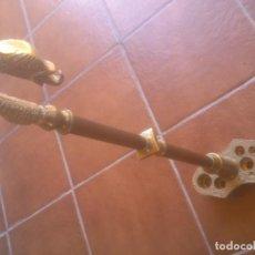 Antigüedades: GRAN CUERPO DE BALANZA EN BRONCE . Lote 85364444