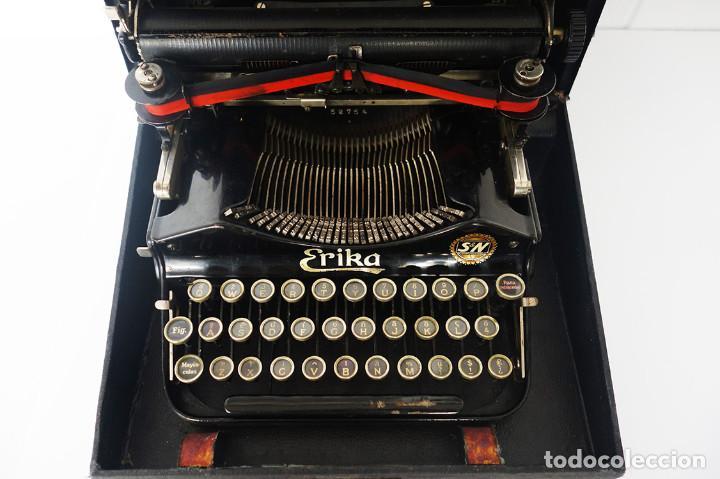 MÁQUINA DE ESCRIBIR ERIKA (ALEMANIA) (Antigüedades - Técnicas - Máquinas de Escribir Antiguas - Erika)