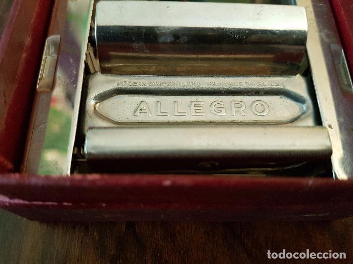 Antigüedades: afilador de cuchillas allegro .modelo L - Foto 2 - 85545388
