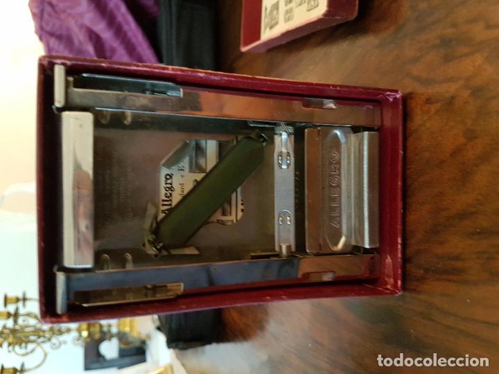 Antigüedades: afilador de cuchillas allegro .modelo L - Foto 3 - 85545388