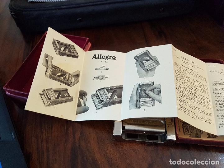 Antigüedades: afilador de cuchillas allegro .modelo L - Foto 4 - 85545388