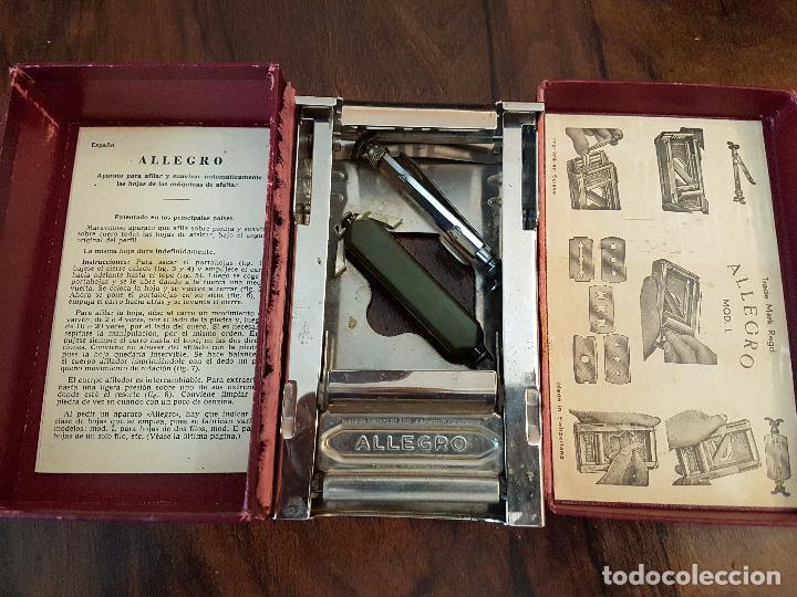 Antigüedades: afilador de cuchillas allegro .modelo L - Foto 5 - 85545388