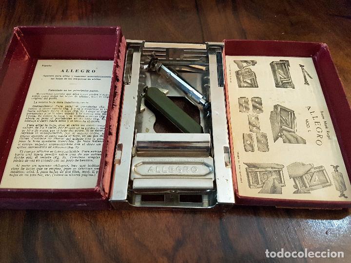 Antigüedades: afilador de cuchillas allegro .modelo L - Foto 6 - 85545388