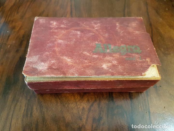 Antigüedades: afilador de cuchillas allegro .modelo L - Foto 9 - 85545388