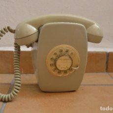 Teléfonos: TELEFONO HERALDO PARED CITESA - AÑOS 70 - COLOR GRIS - SIN ROTURAS. Lote 85598484