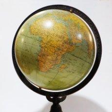 Antigüedades: 1920 - GLOBO TERRÁQUEO RAND MCNALLY CON SOPORTE LIBERTY ( MODERNISMO ESTADOUNIDENSE). Lote 85704536