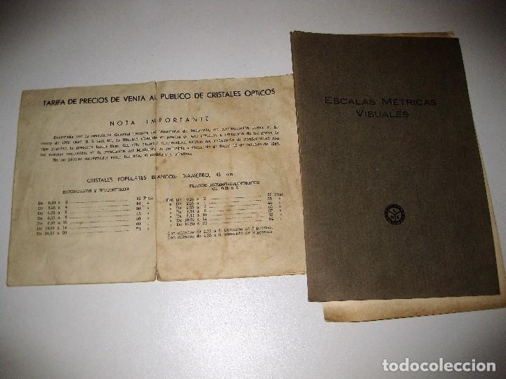 2a9cfb1abc escalas metricas y visuales años 50 . tarifa d - Comprar en ...