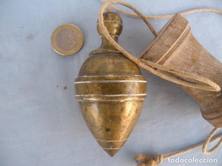 Antigüedades: ARQUITECTO ALBAÑÍL, PLOMADA - Foto 4 - 85842652