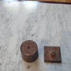 Antigüedades: ANTIGUA PLOMADA DE ALBAÑIL.. Lote 85879812