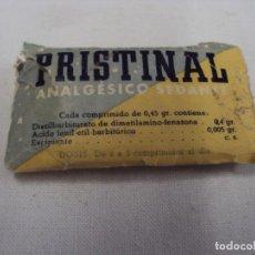 Antigüedades: MEDICAMENTO PRISTINAL. Lote 85981084