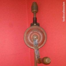 Antigüedades: ANTIGUO TALADRO MANUAL MARCA ALCYON. Lote 86022900
