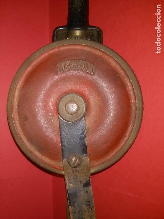 Antigüedades: ANTIGUO TALADRO MANUAL MARCA ALCYON - Foto 2 - 86022900