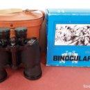 Antigüedades: BINOCULARES. ZENITH 10 X 50. FUNDA DE CUERO. CAJA ORIGINAL. ALEMANIA. CIRCA 1970.. Lote 85979772