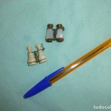 Antiquités: ANTIGUAS MINIATURAS DE PRISMATICOS ...PRISMATICO...ENANO..PEQUEÑO. Lote 86089876
