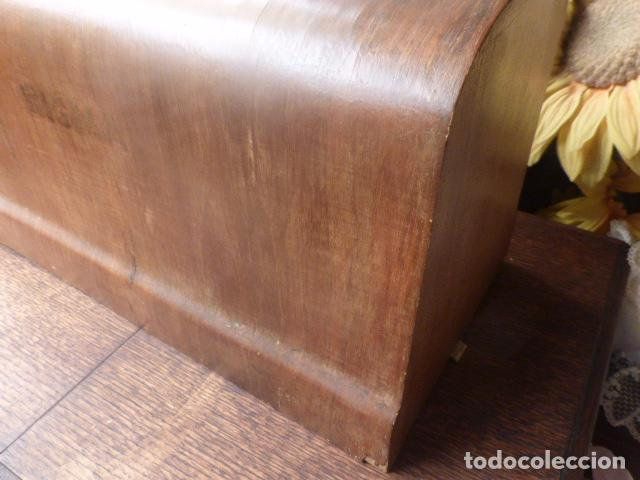 Antigüedades: ANTIGUA TAPADERA DE MAQUINA DE COSER SIGMA - Foto 2 - 86099040