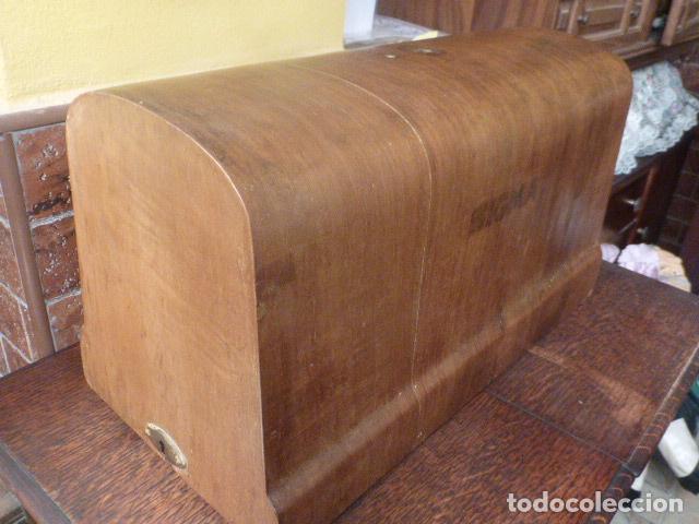 Antigüedades: ANTIGUA TAPADERA DE MAQUINA DE COSER SIGMA - Foto 8 - 86099040