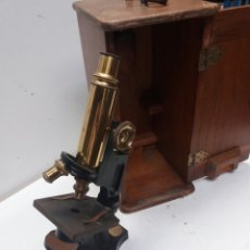 Antigüedades: MICROSCOPIO BAUSCH & LOMB. Lote 86133447