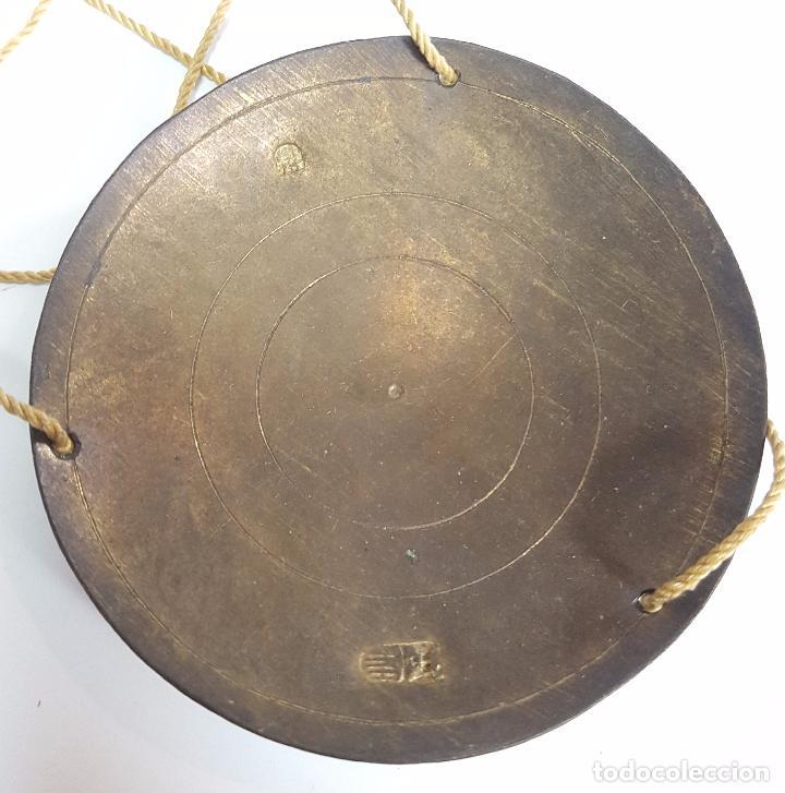 Antigüedades: BALANZA QUILATERA CON PESAS. METAL Y BRONCE. ESPAÑA. SIGLO XVIII. CAJA ORIGINAL. - Foto 3 - 86284504
