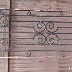 Antigüedades: REJA DE FORJA ANTIGUA GRANDE. Lote 86353576