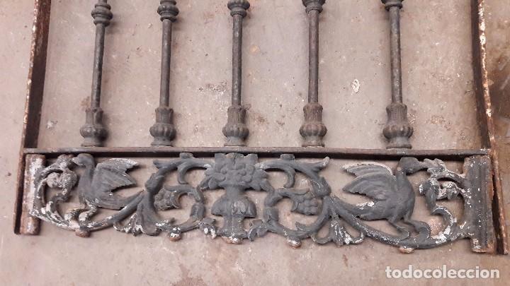 Pareja de rejas antiguas leer descripci n comprar objetos cerrajer a y forja antigua en - Rejas de forja antiguas ...