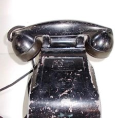 Teléfonos: ANTIGUO TELEFONO RADIO AMERICANO FEDERAL TELEPHONE & RADIO CO. CRANK EN METAL. FALTA LA MANIVELA . Lote 86408912