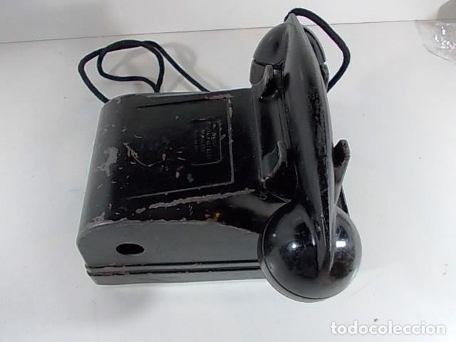 Teléfonos: ANTIGUO TELEFONO RADIO AMERICANO FEDERAL TELEPHONE & RADIO co. CRANK EN METAL. FALTA LA MANIVELA - Foto 5 - 86408912